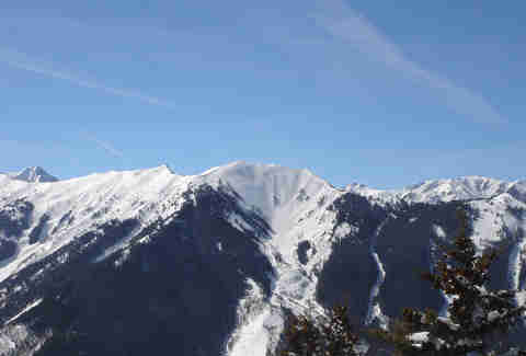 Aspen mountain range