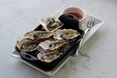The oysters at Local's Corner