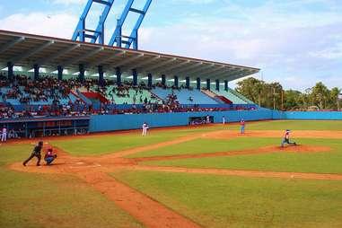 Cuban baseball stadium