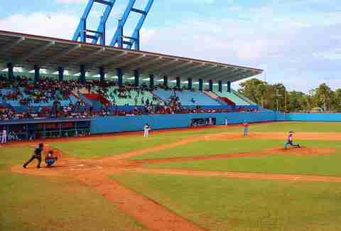 Cuban baseball stadium