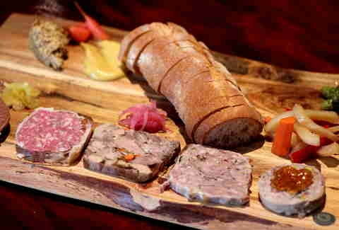 Terrine Platter at Taps