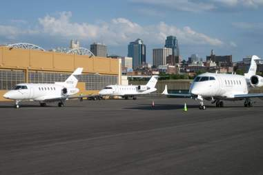 XOJETs on the tarmac