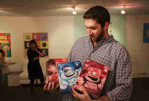 Boo Berry, FrankenBerry, Frute Brute Cereal Andrew Zimmer