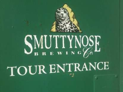 Smuttynose tour entrance