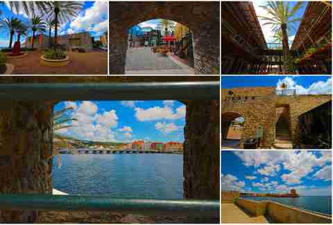 Fort Riv in Willemstad, Curacao.