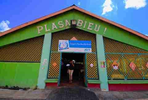 Plasa Bieu! in Willemstad, Curacao.