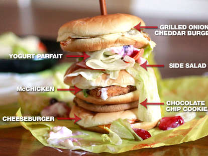 mcmonstrosity sandwich mcdonalds dollar menu