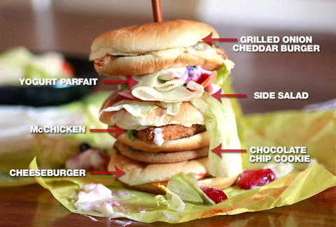 mcmonstrosity sandwich mcdonalds dollar menu