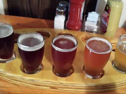 Council Rock beer flight