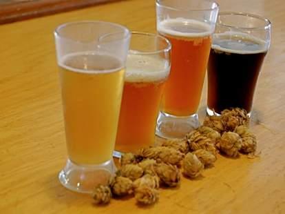 Cooperstown lineup of beer