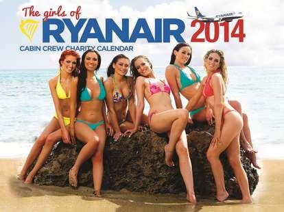 Ryanair calendar back cover
