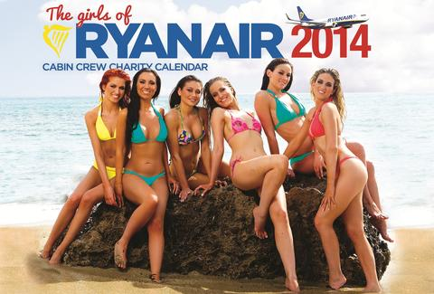 Ryanair calendar back cover