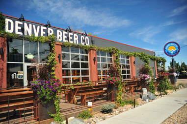 Denver Beer Company patio