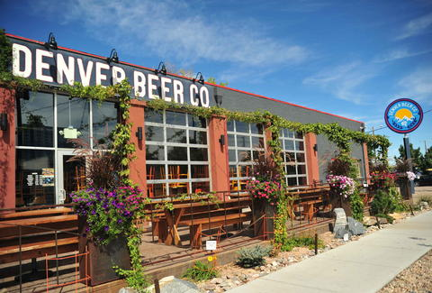 Denver Beer Company patio