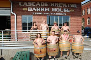 Cascase Brewing Barrel House