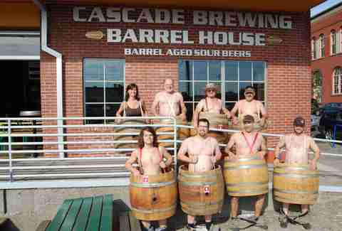 Cascase Brewing Barrel House