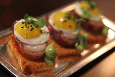 Boiler Room bacon eggs vegas