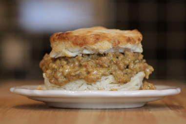 Empire Biscuit - Biscuits and gravy