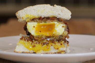 Empire Biscuit - Scotch Egg Sandwich