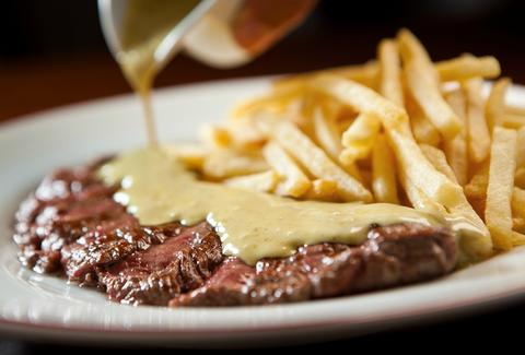 Steak Frites at L'Entrecote