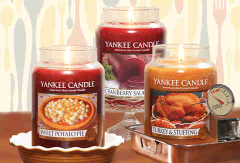 Yankee Candle Company Thanksgiving candles