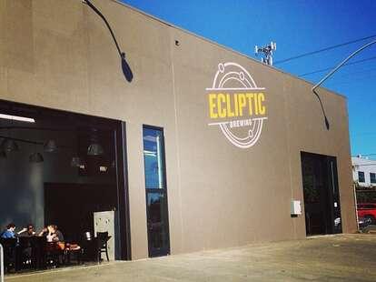 Ecliptic Brewing portland exterior