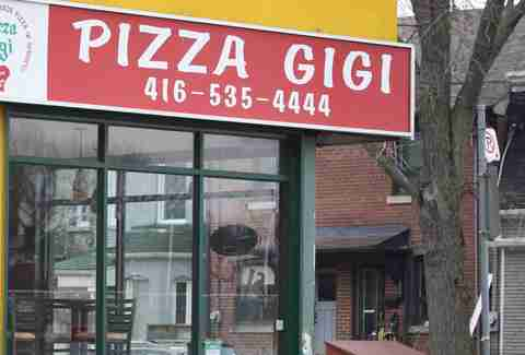 Pizza Gigi Toronto pizza power rank