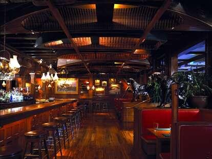Clyde's Tower Oaks Lodge Cabin Bars Washington DC