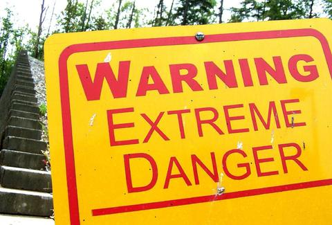 Extreme Danger Sign
