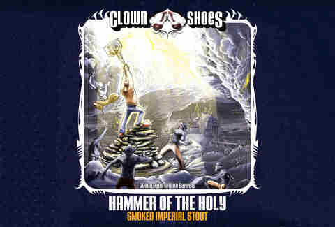 Clown Shoes Hammer of the Holy beer