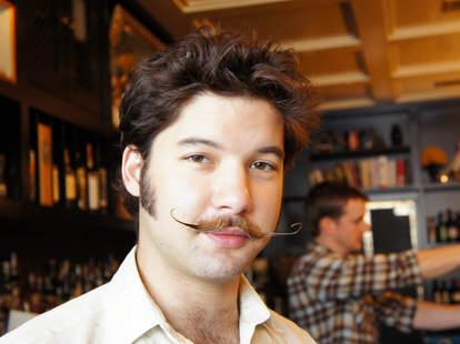bartender mustache