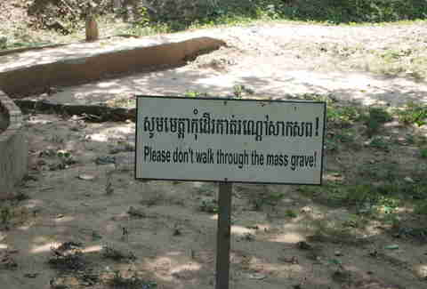 Killing fields sign