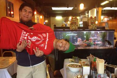 Sriracha bottle costume