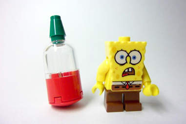 Spongebob Squarepants Sriracha