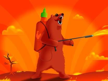 Sriracha grizzly The Oatmeal