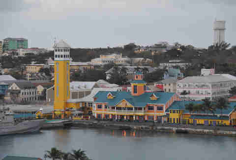 Cruise ship terminal nassau