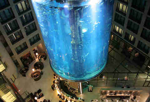 AquaDom, radisson blu hotel, berlin