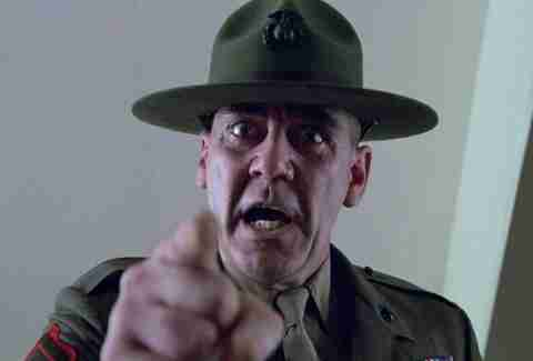 R. Lee Ermey Full Metal Jacket
