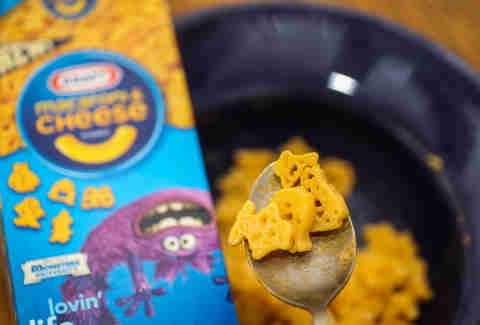Macaroni and cheese Monsters Inc