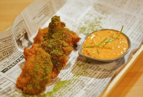 Twice fried chicken at Yusho