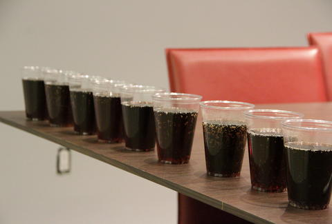 Cups of cola