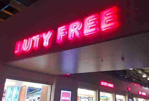 Duty Free Sign