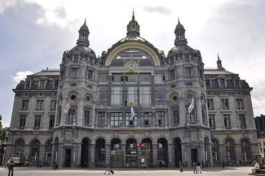 Antwerpen-Centraal Station, Belgium