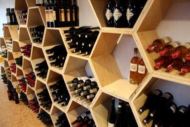 Honeycomb wines at TBD