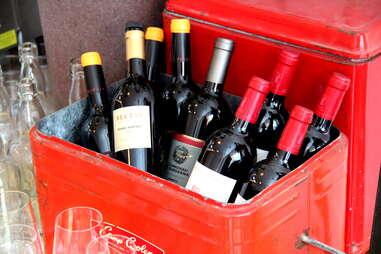 Wine cooler at TBD