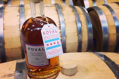 Koval Distillery in ravenswood