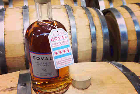 Koval Distillery in ravenswood