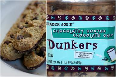 Chocolatey Coated Chocolate Chip Dunkers