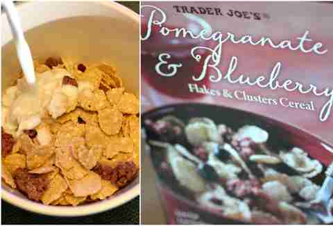 Pomegranate & Blueberry Flakes and Clusters Cereal