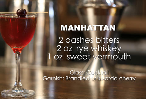 thrillist manhattan recipe